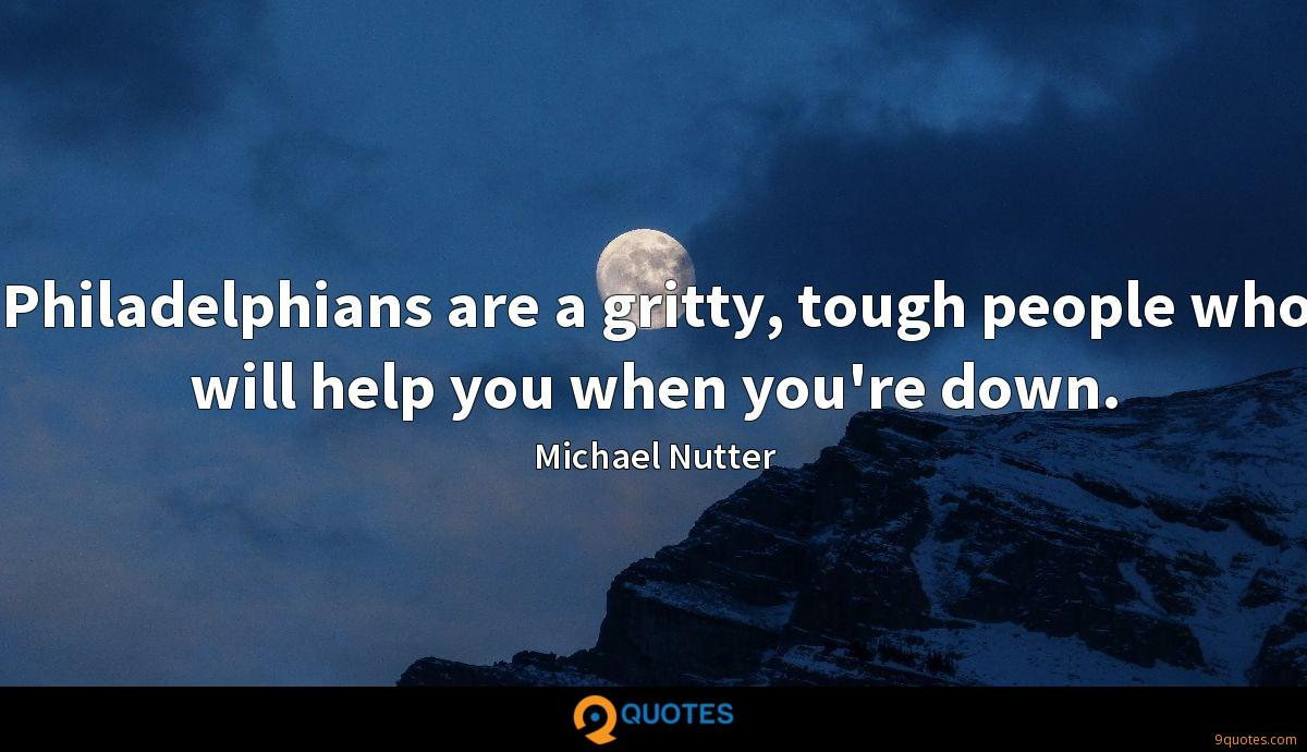 Michael Nutter quotes
