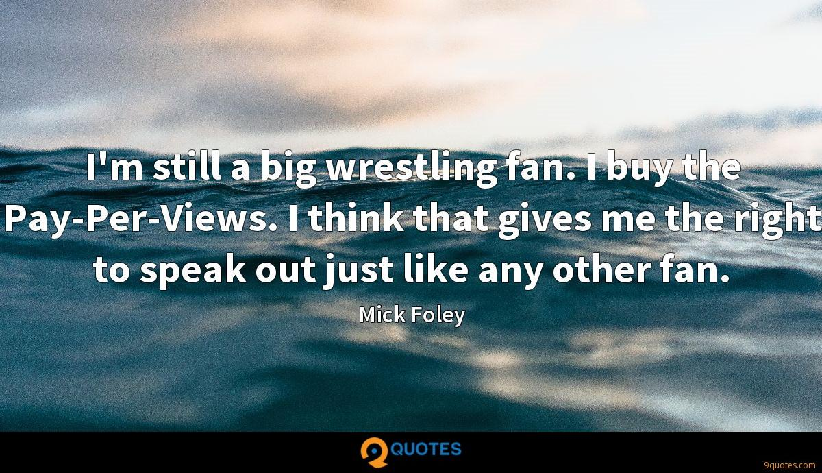 Mick Foley quotes