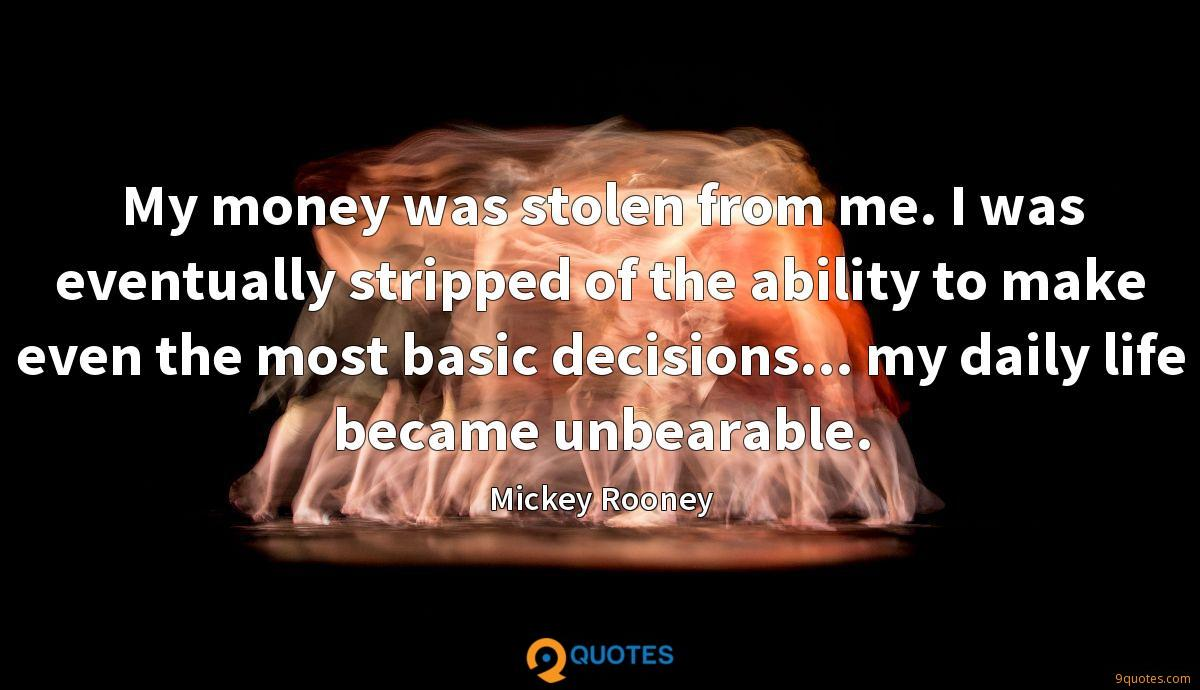 Mickey Rooney quotes