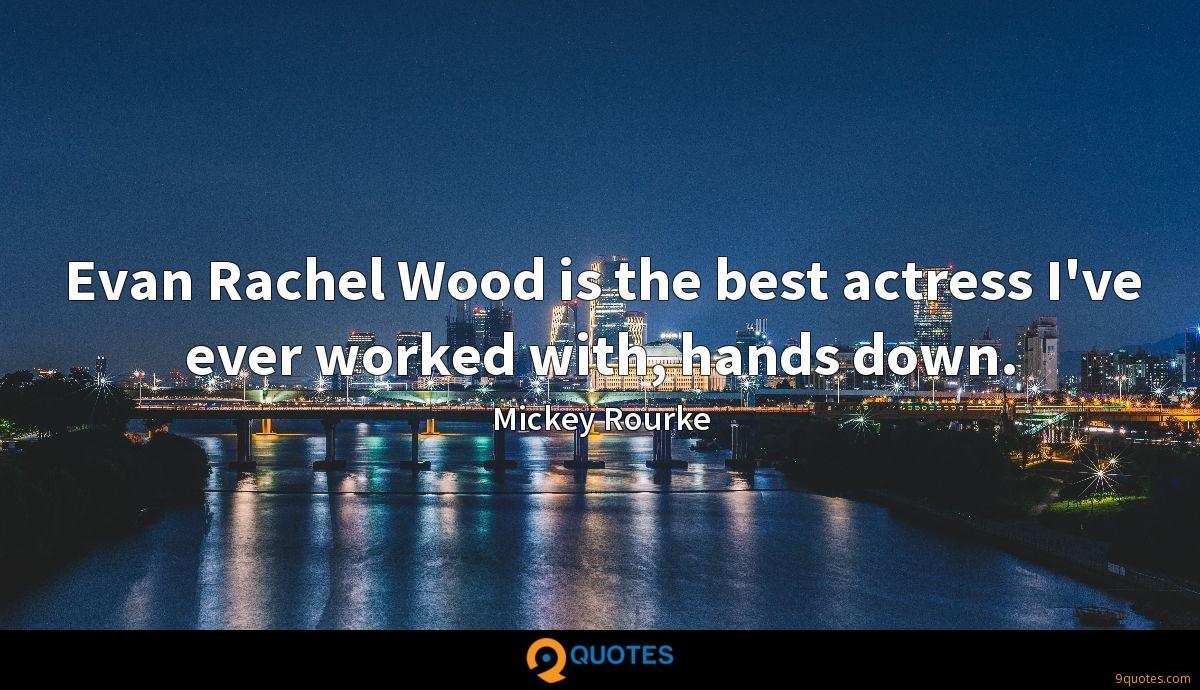 Mickey Rourke quotes