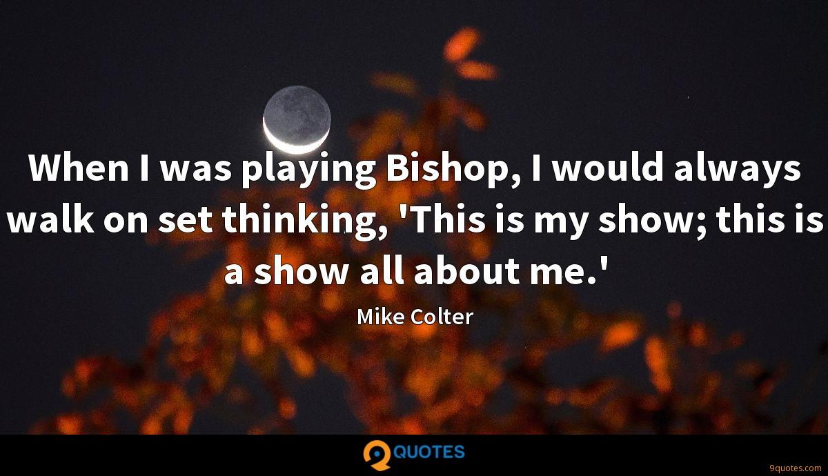 Mike Colter quotes
