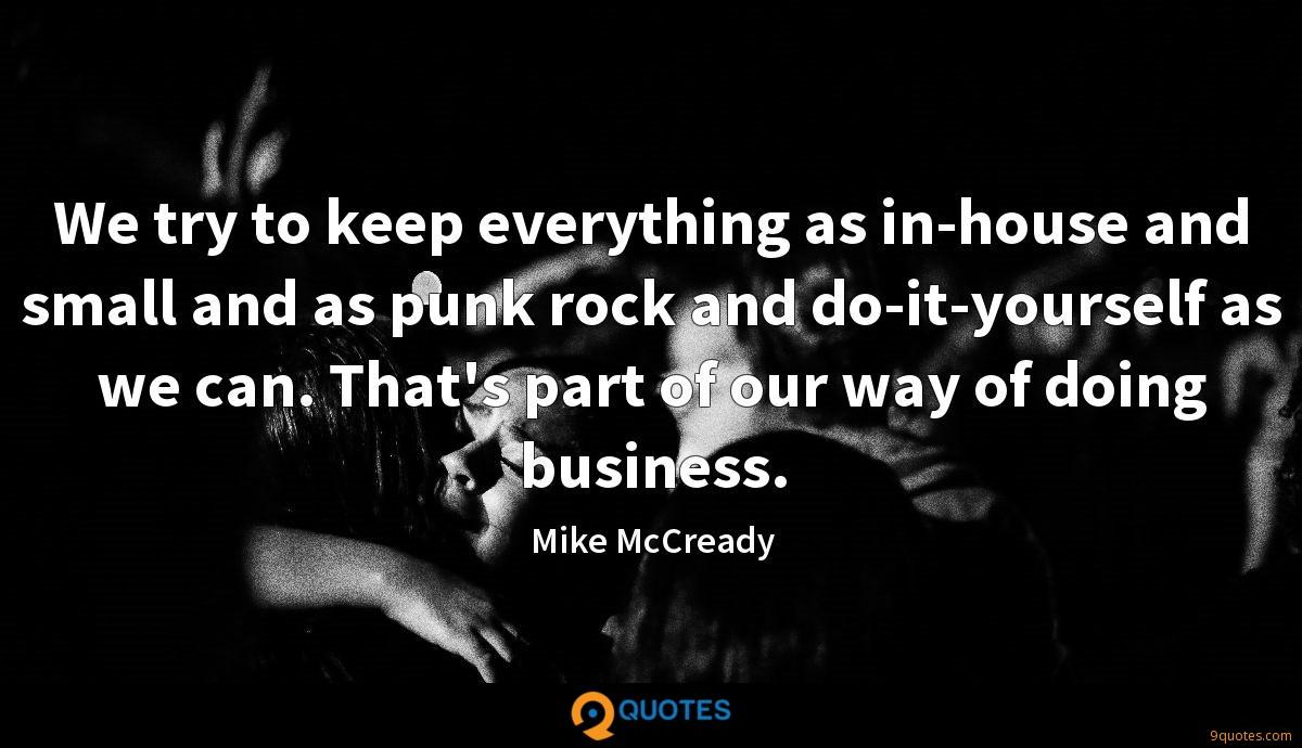 Mike McCready quotes