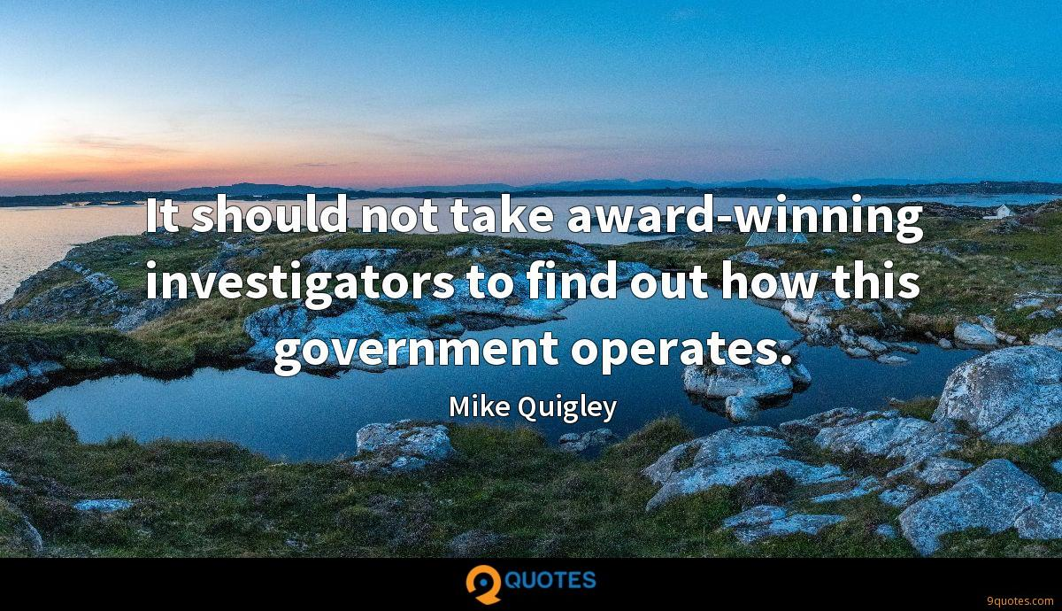 Mike Quigley quotes