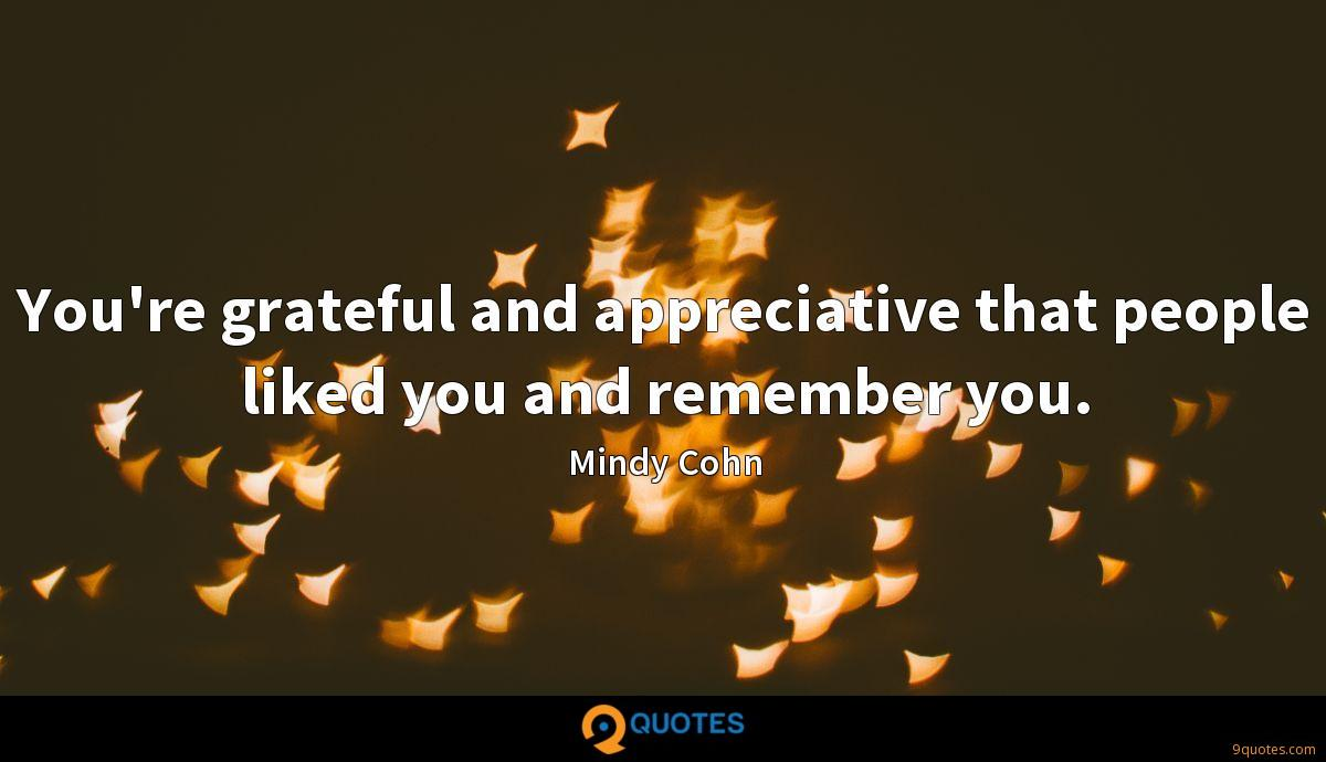 Mindy Cohn quotes
