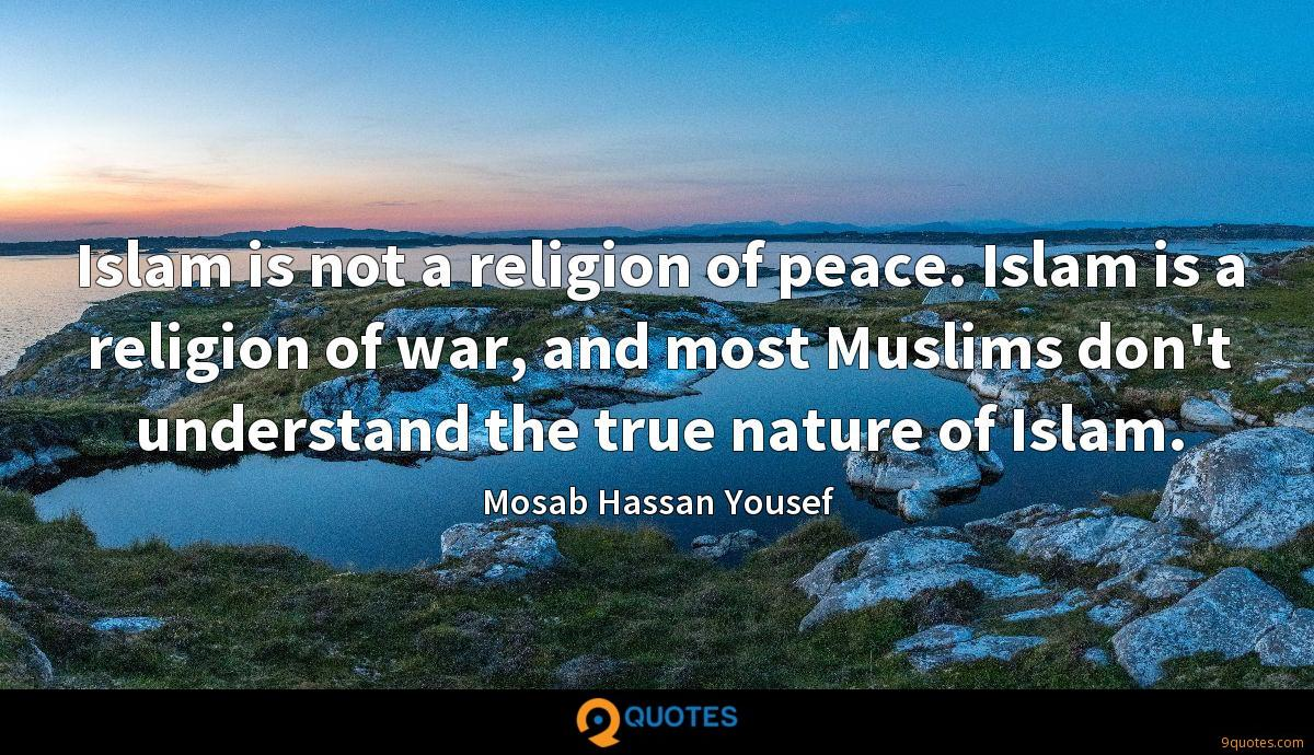 Mosab Hassan Yousef quotes