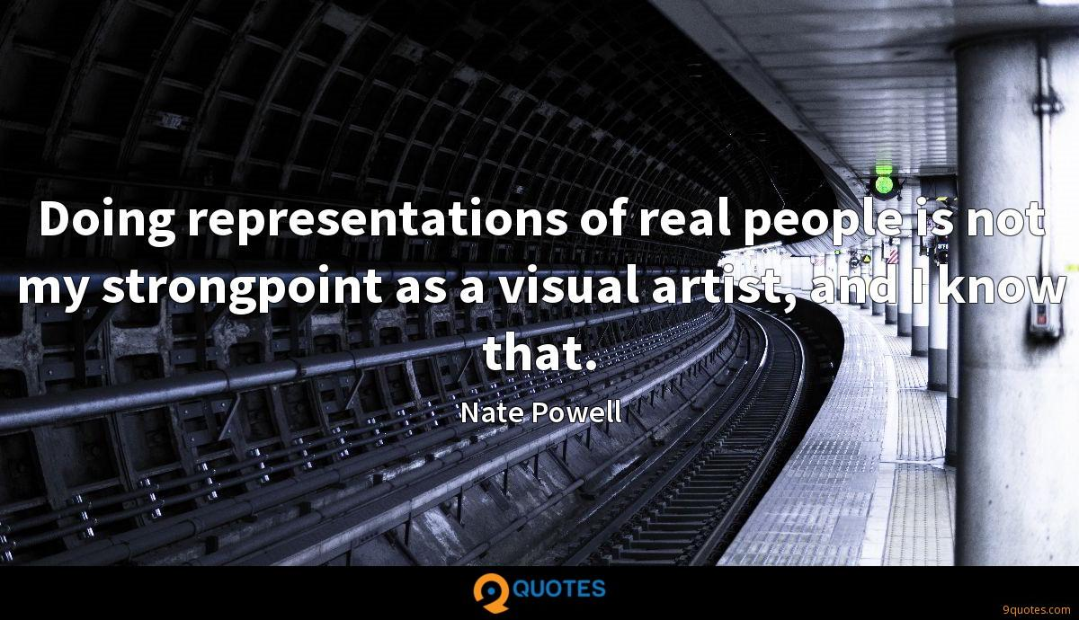 Doing representations of real people is not my strongpoint as a visual artist, and I know that.