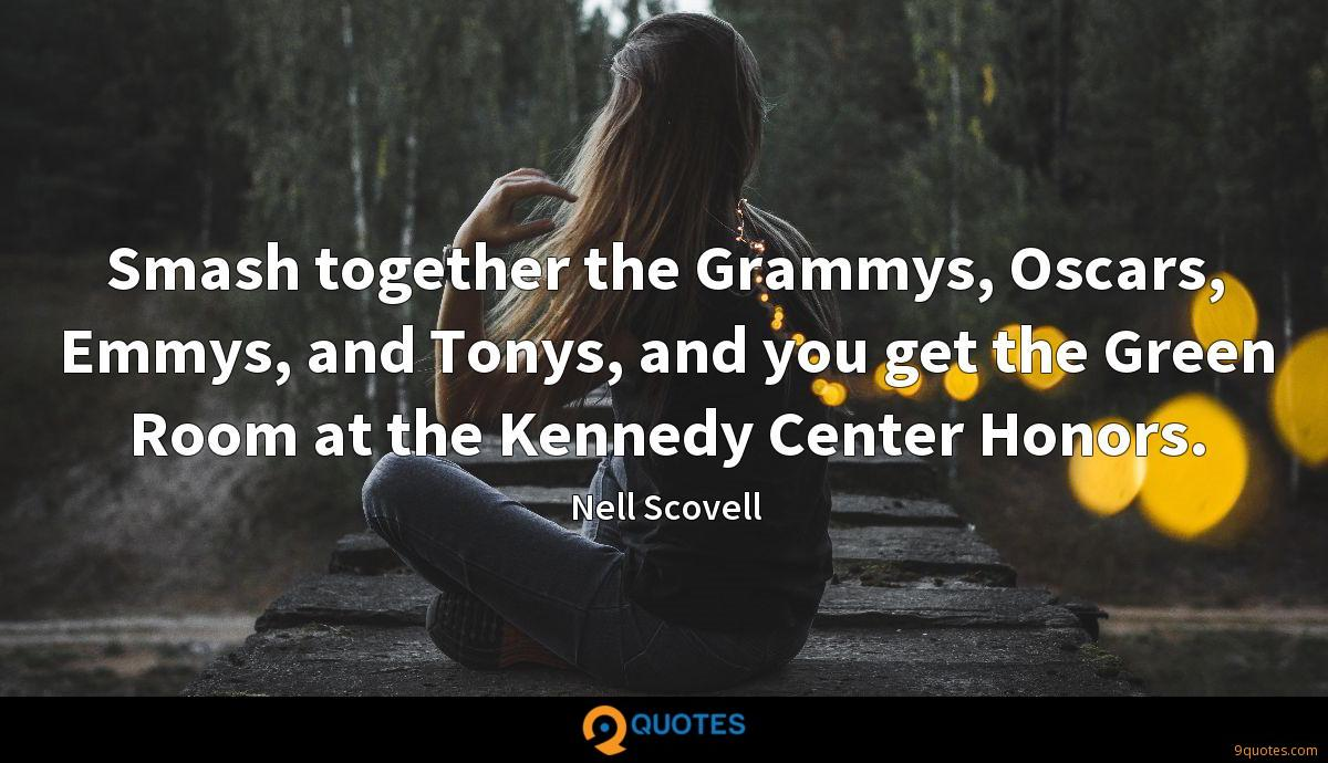 Smash together the Grammys, Oscars, Emmys, and Tonys, and you get the Green Room at the Kennedy Center Honors.