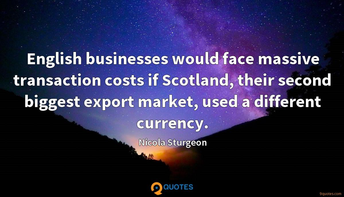 Nicola Sturgeon quotes