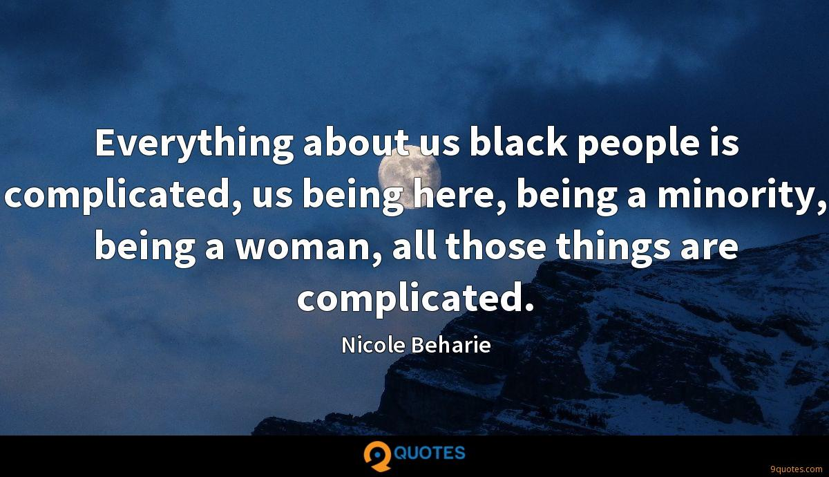 Nicole Beharie quotes