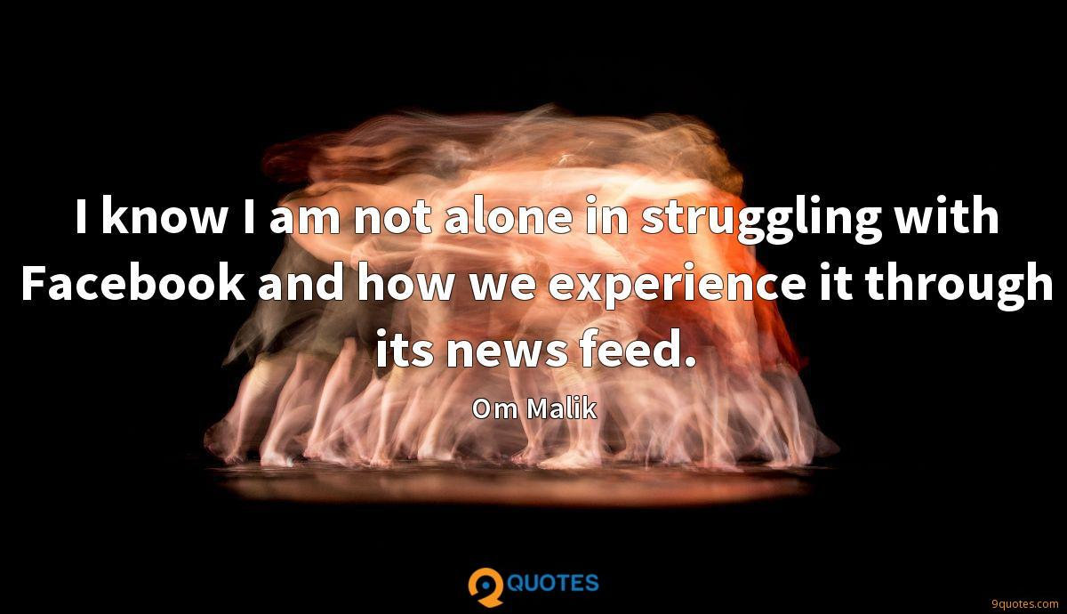 I know I am not alone in struggling with Facebook and how we experience it through its news feed.