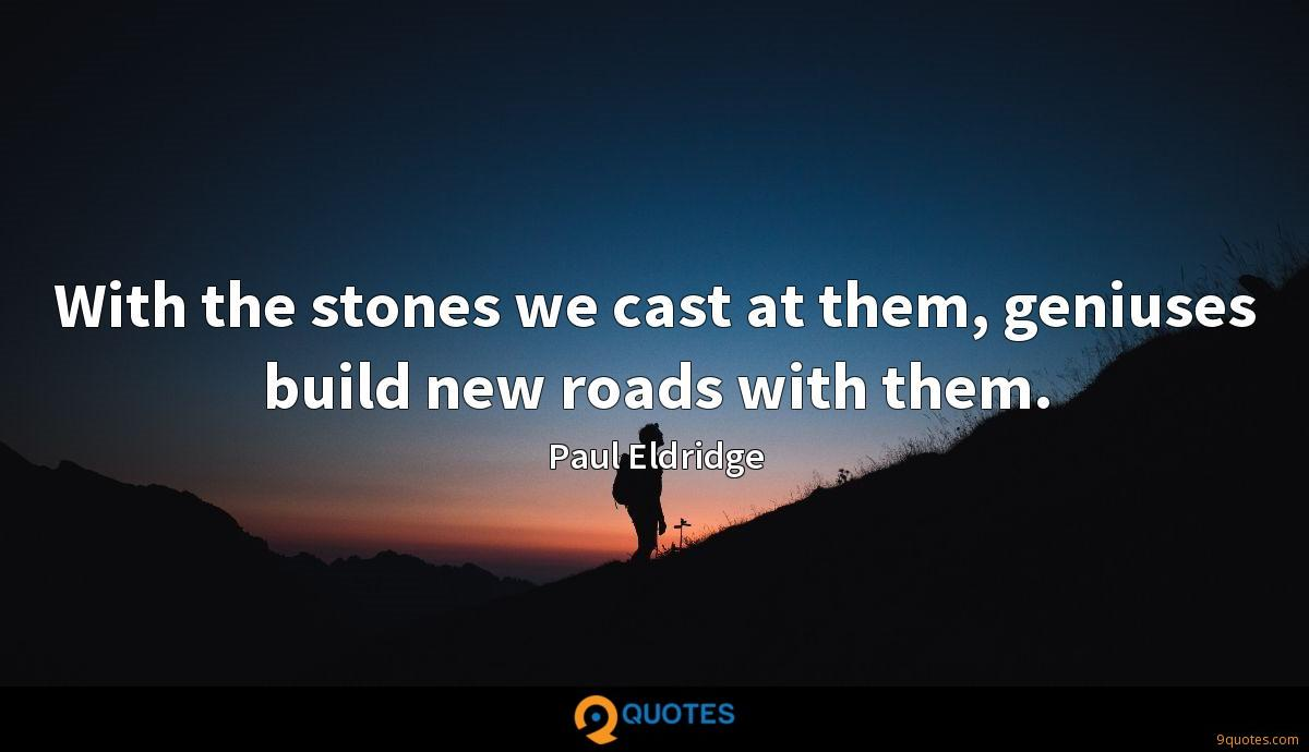 Paul Eldridge quotes