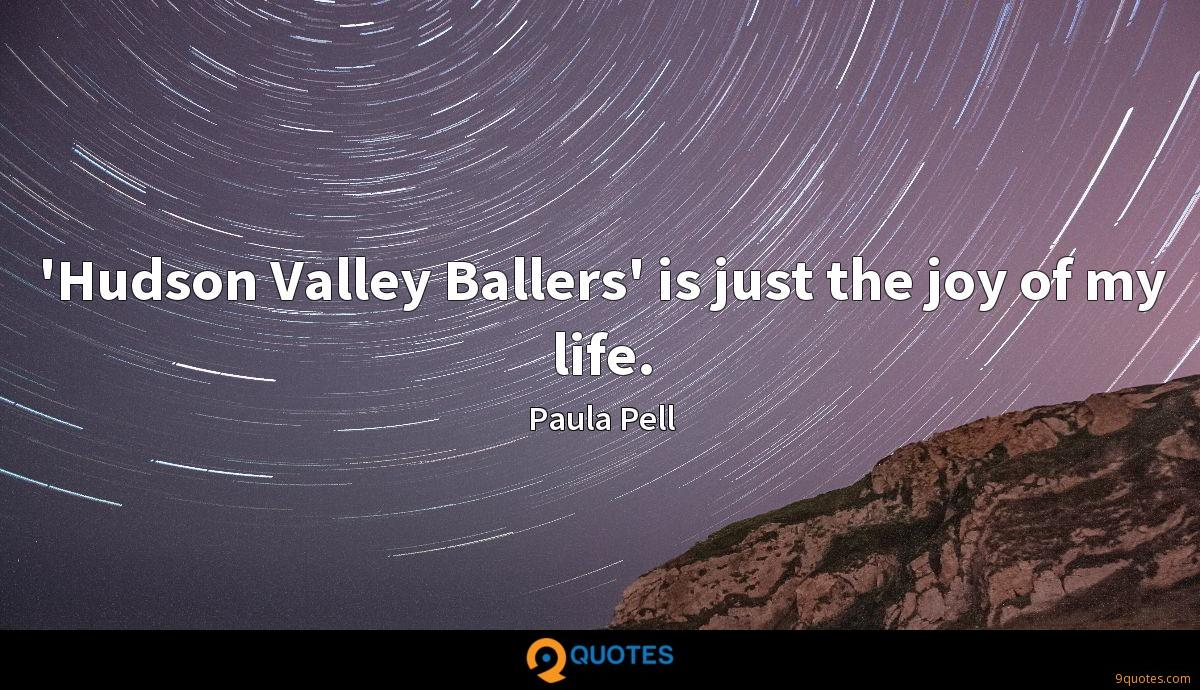 'Hudson Valley Ballers' is just the joy of my life.