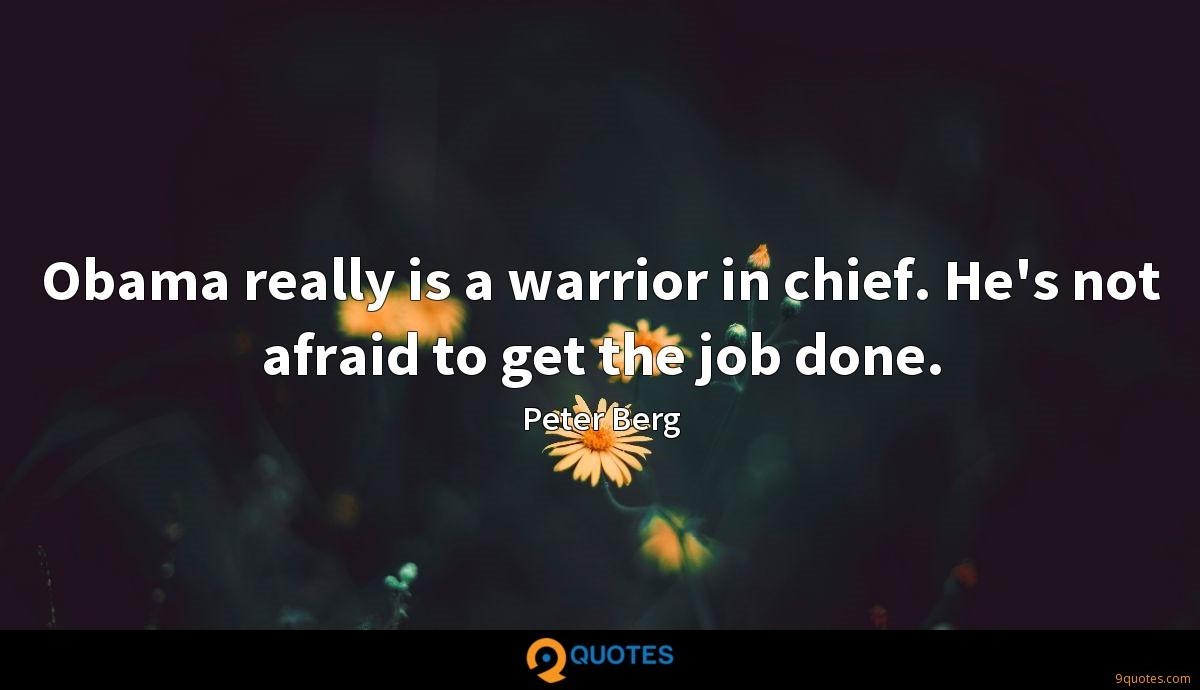 Peter Berg quotes