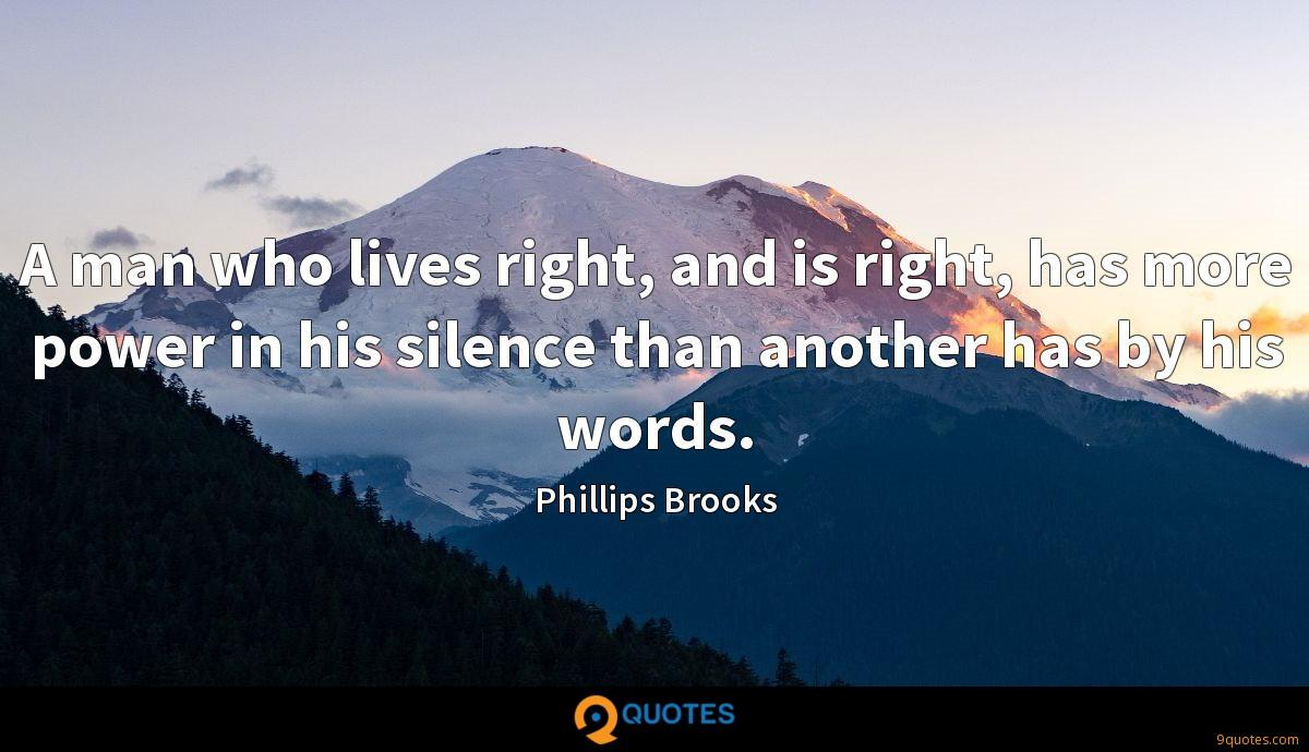 Phillips Brooks quotes