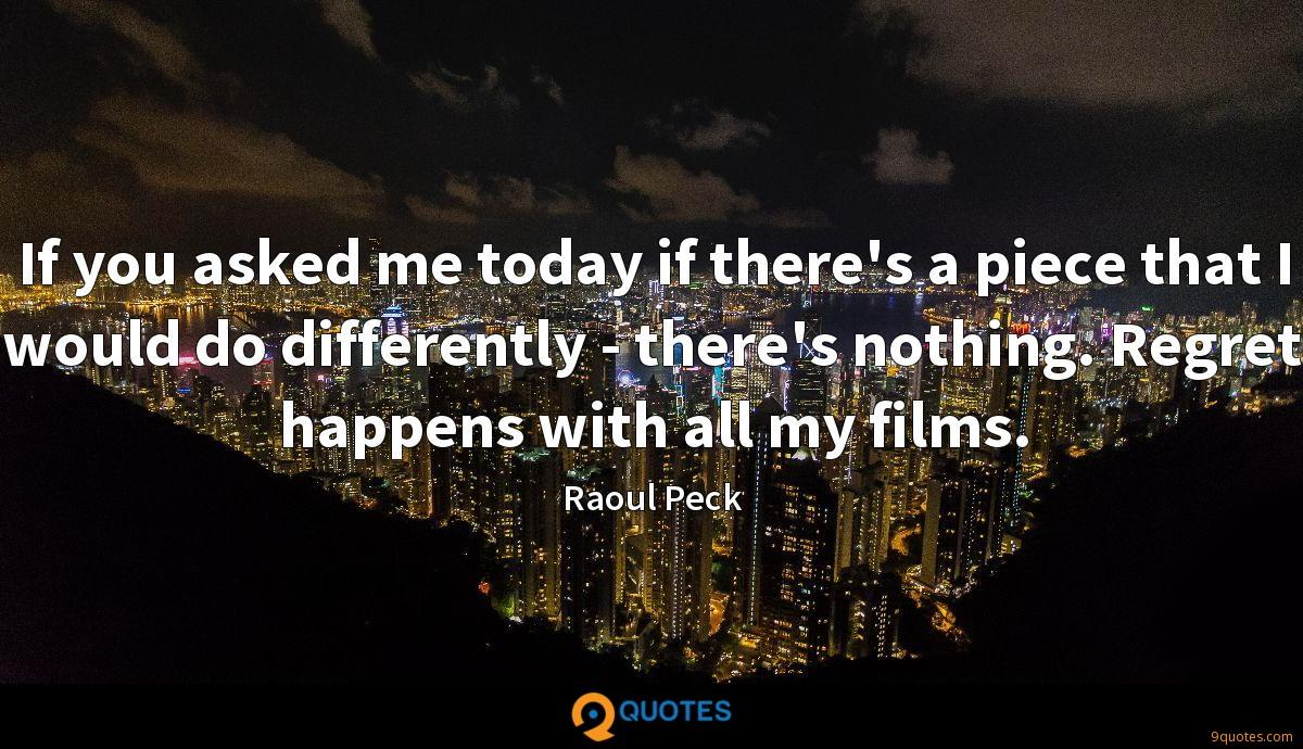 Raoul Peck quotes