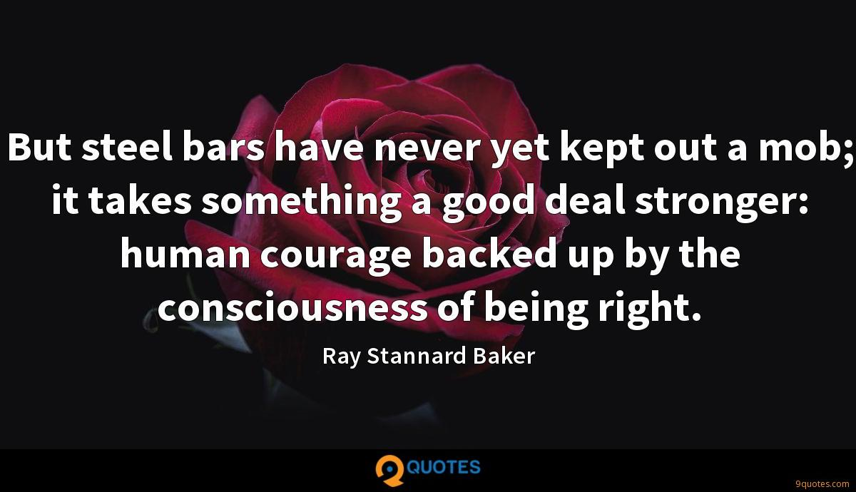 Ray Stannard Baker quotes