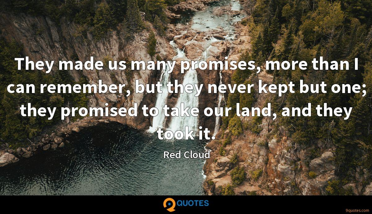 Red Cloud quotes