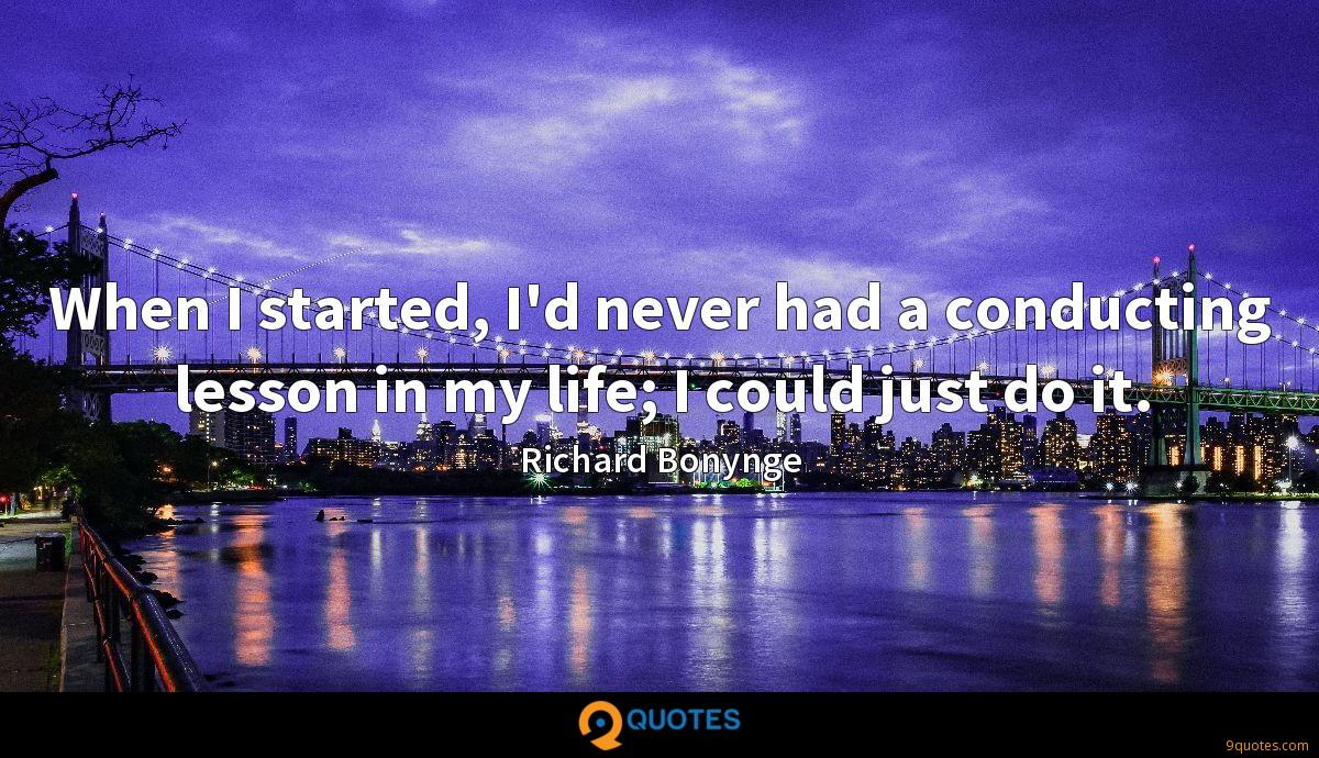 Richard Bonynge quotes