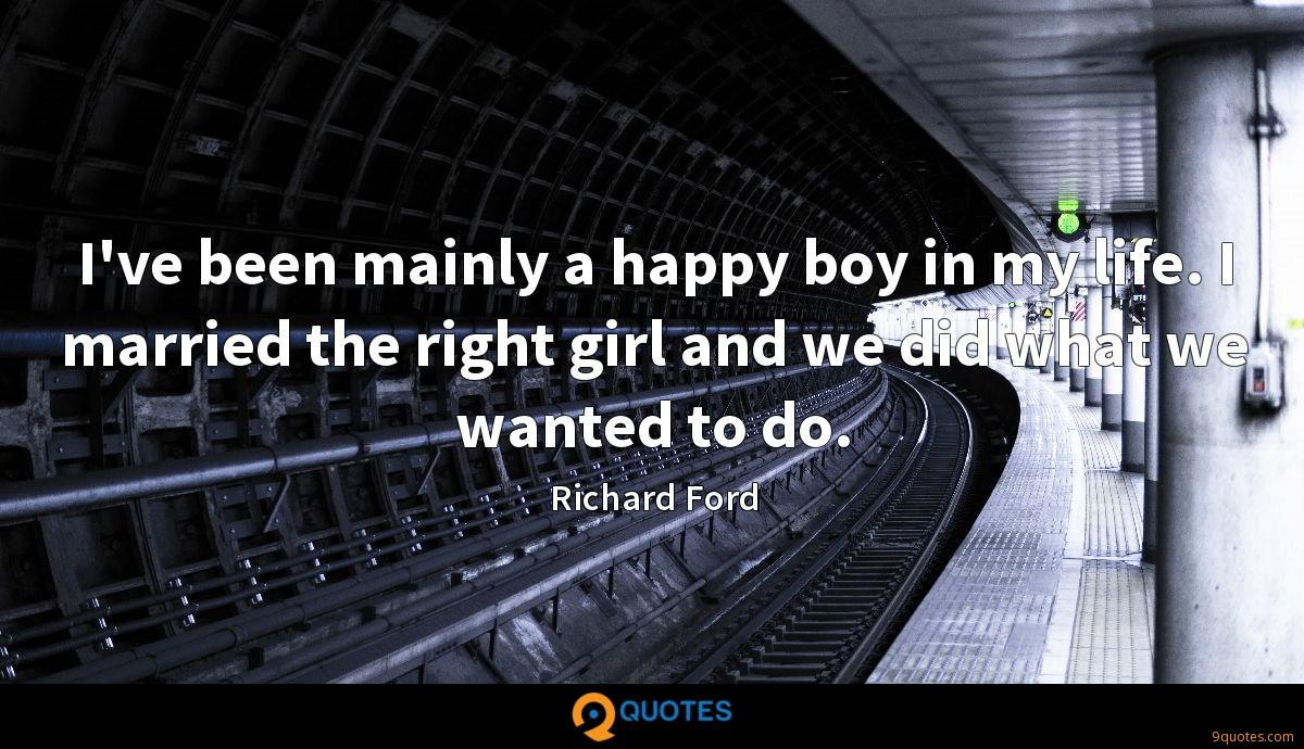 Richard Ford quotes
