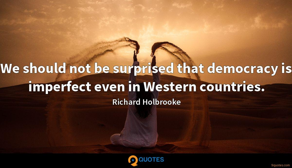 Richard Holbrooke quotes
