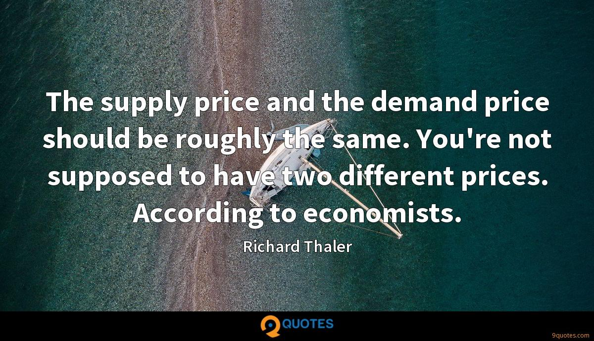 Richard Thaler quotes
