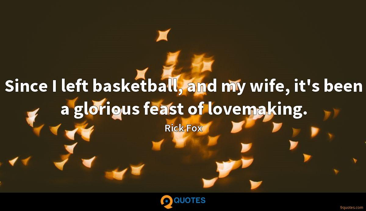 Rick Fox quotes