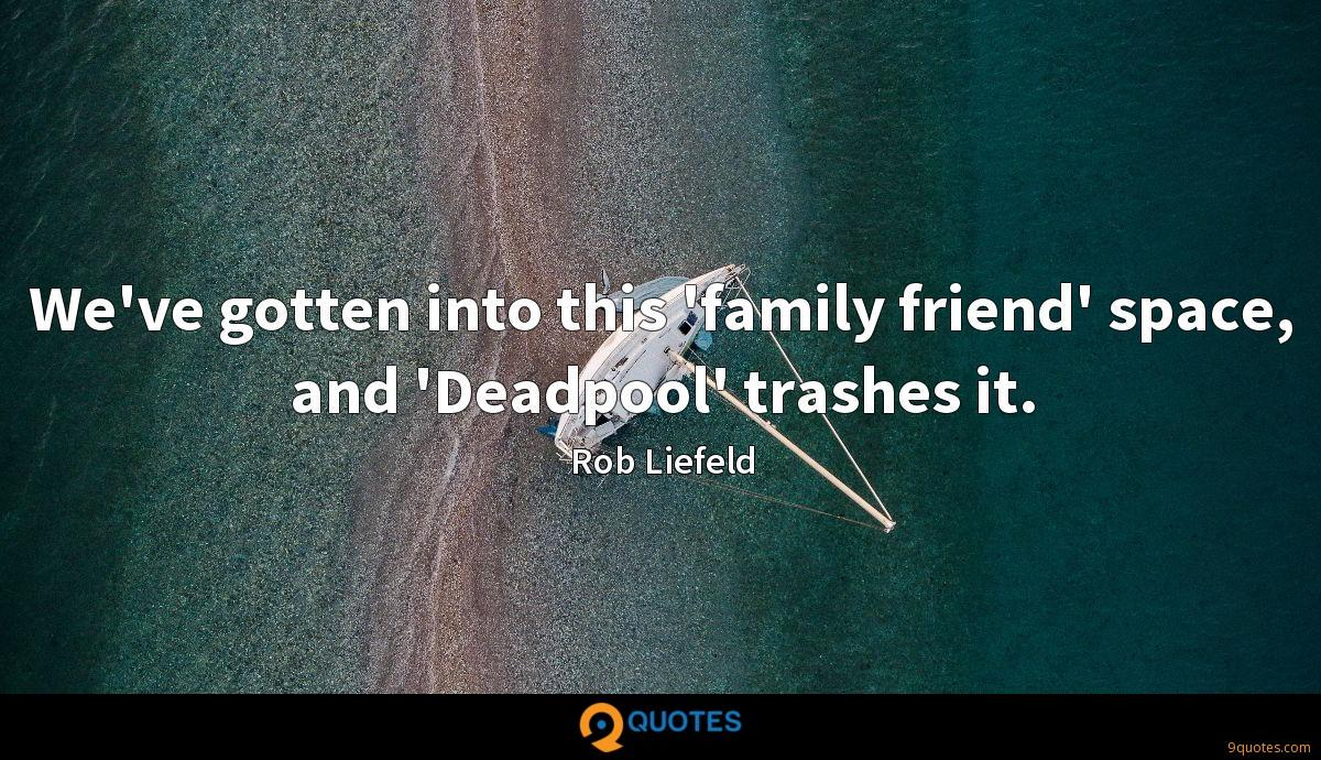 Rob Liefeld quotes