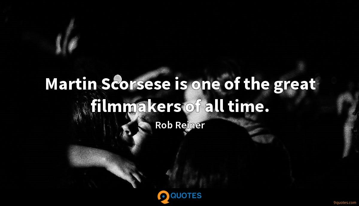 Martin Scorsese is one of the great filmmakers of all time.