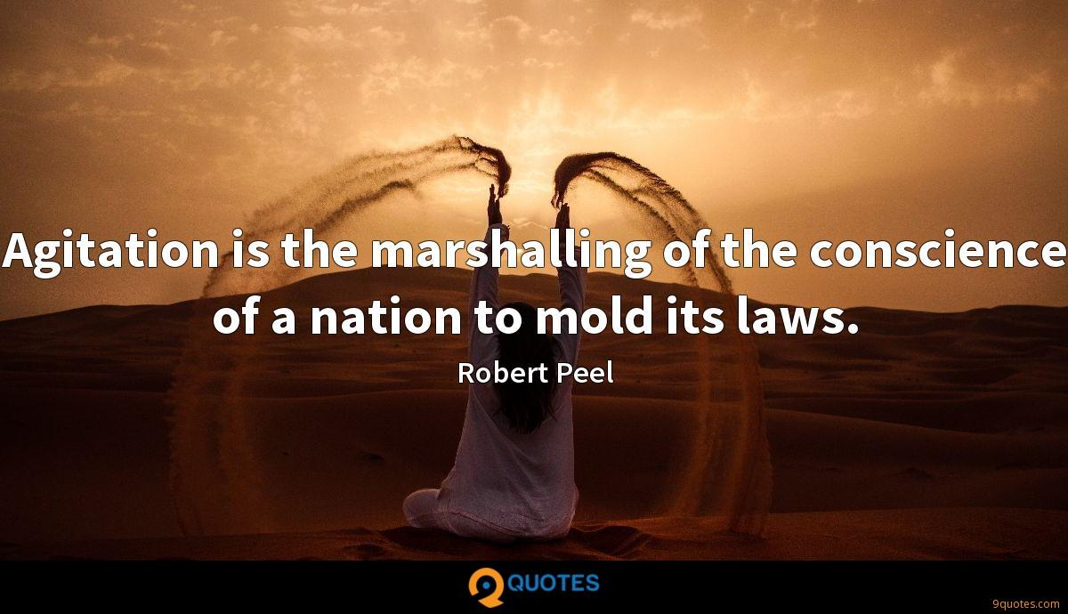 Robert Peel quotes
