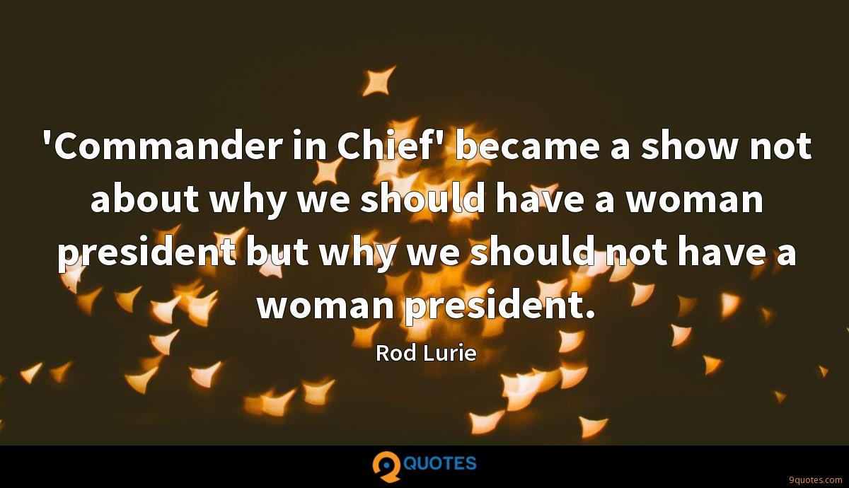 Rod Lurie quotes