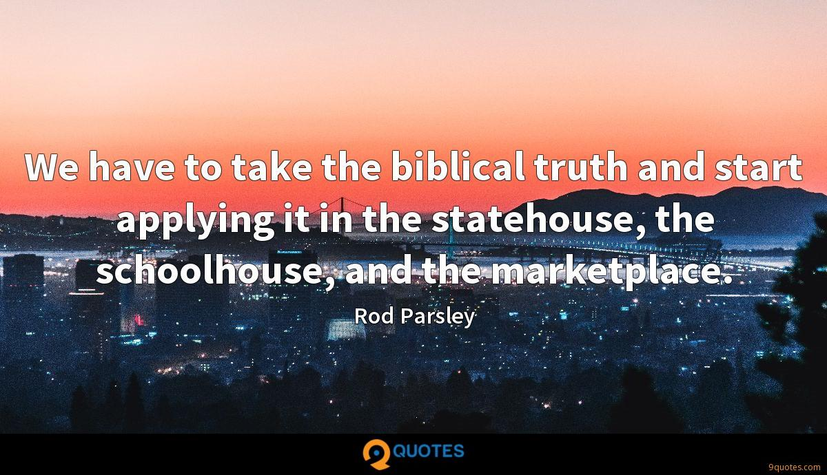 Rod Parsley quotes