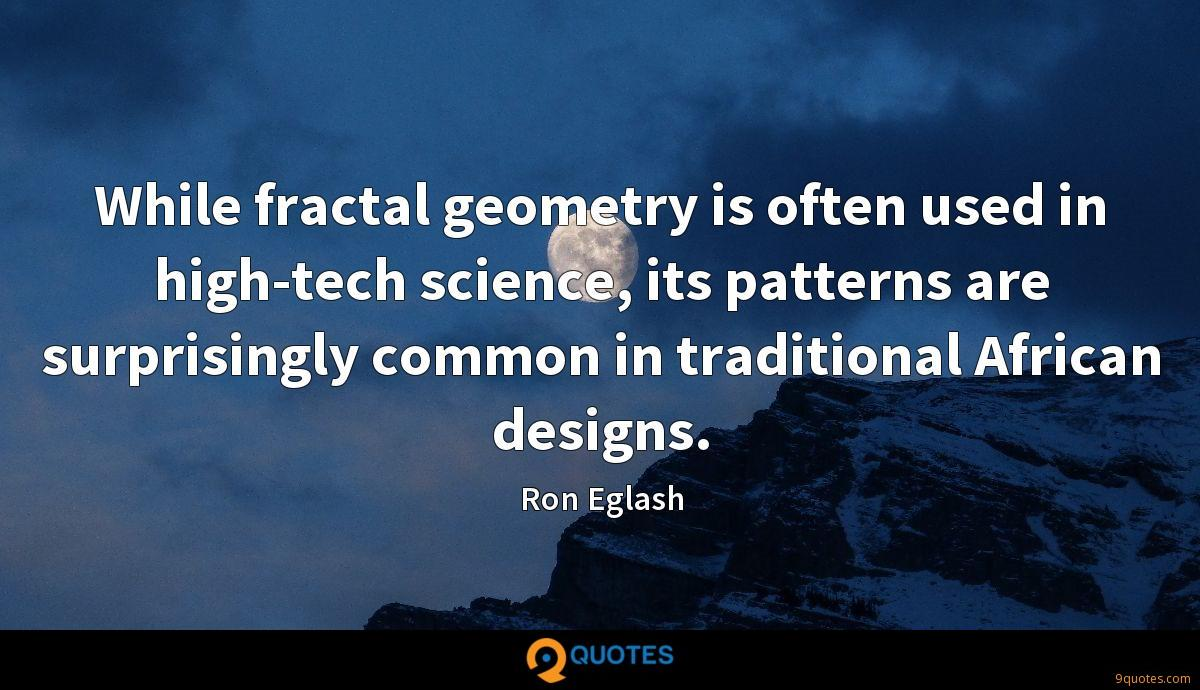 Ron Eglash quotes
