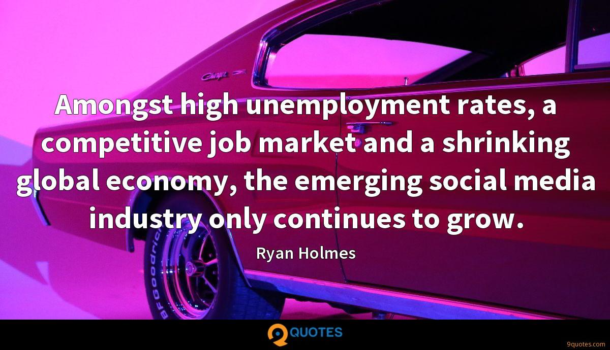 Amongst high unemployment rates, a competitive job market and a shrinking global economy, the emerging social media industry only continues to grow.