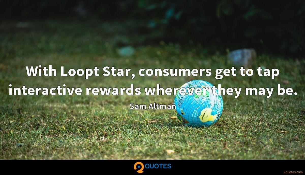 With Loopt Star, consumers get to tap interactive rewards wherever they may be.