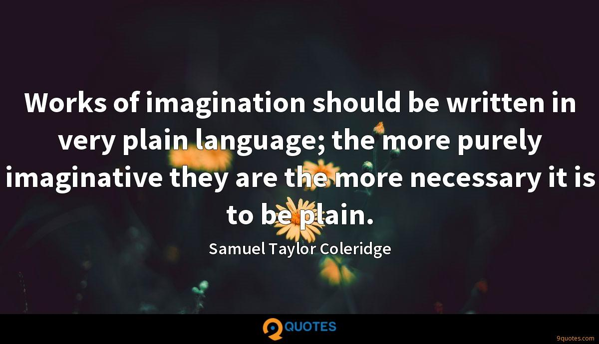 Samuel Taylor Coleridge quotes