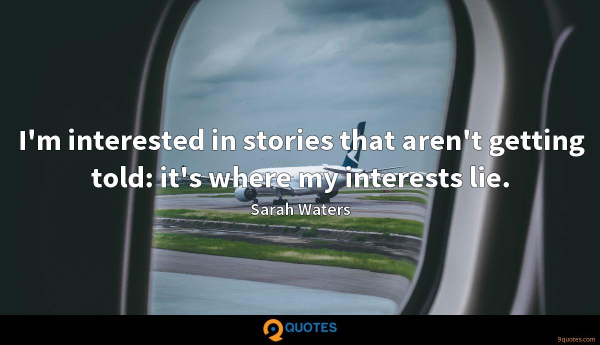 Sarah Waters quotes