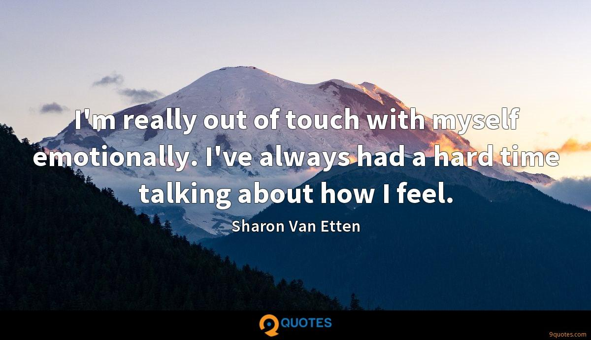 Sharon Van Etten quotes