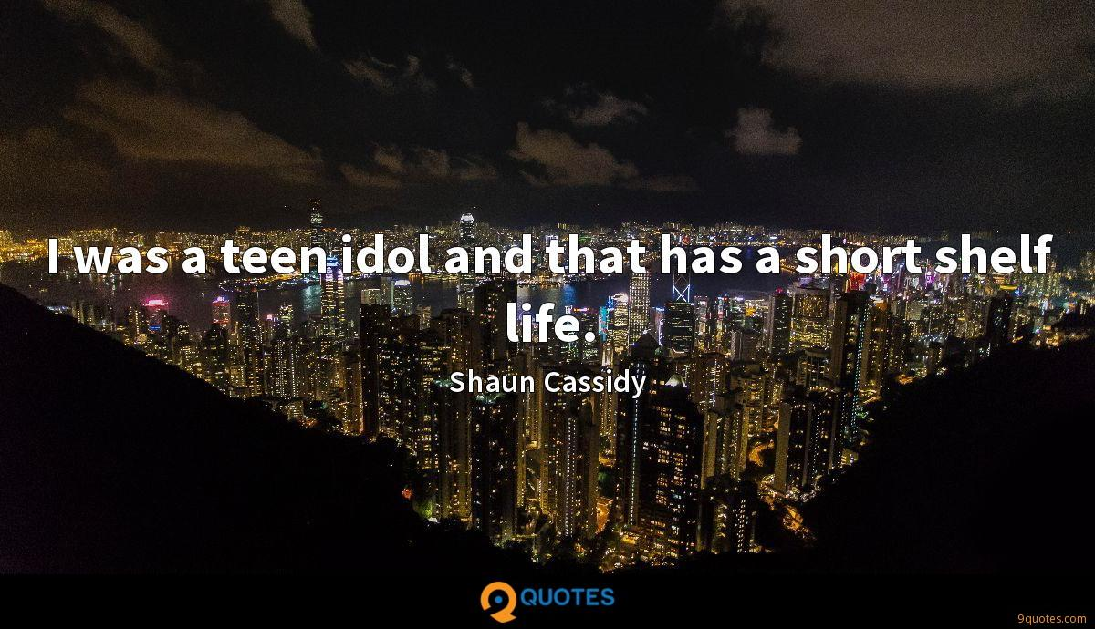 Shaun Cassidy quotes