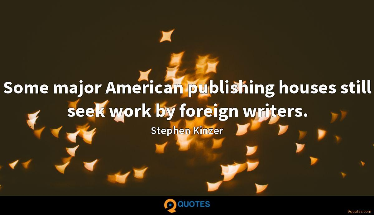 Stephen Kinzer quotes