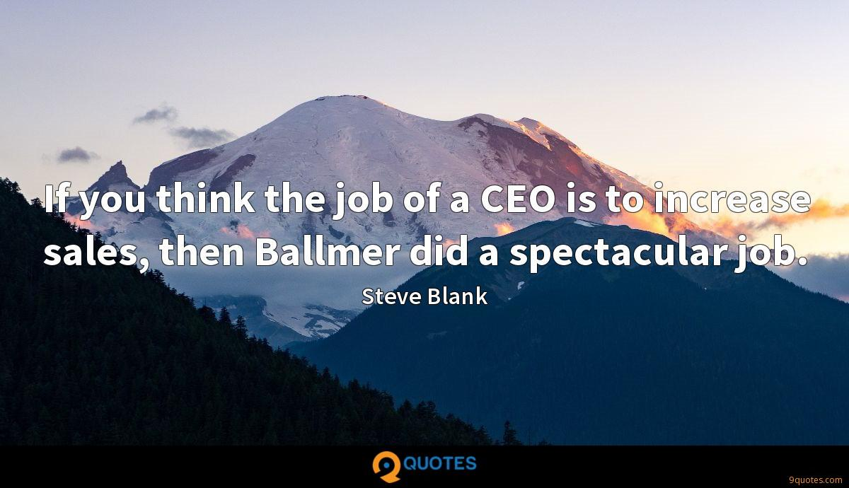 Steve Blank quotes