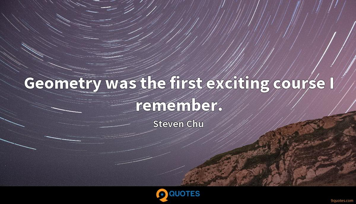 Steven Chu quotes