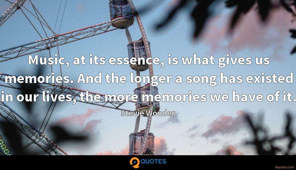 Music, at its essence, is what gives us memories. And the longer a song has existed in our lives, the more memories we have of it.
