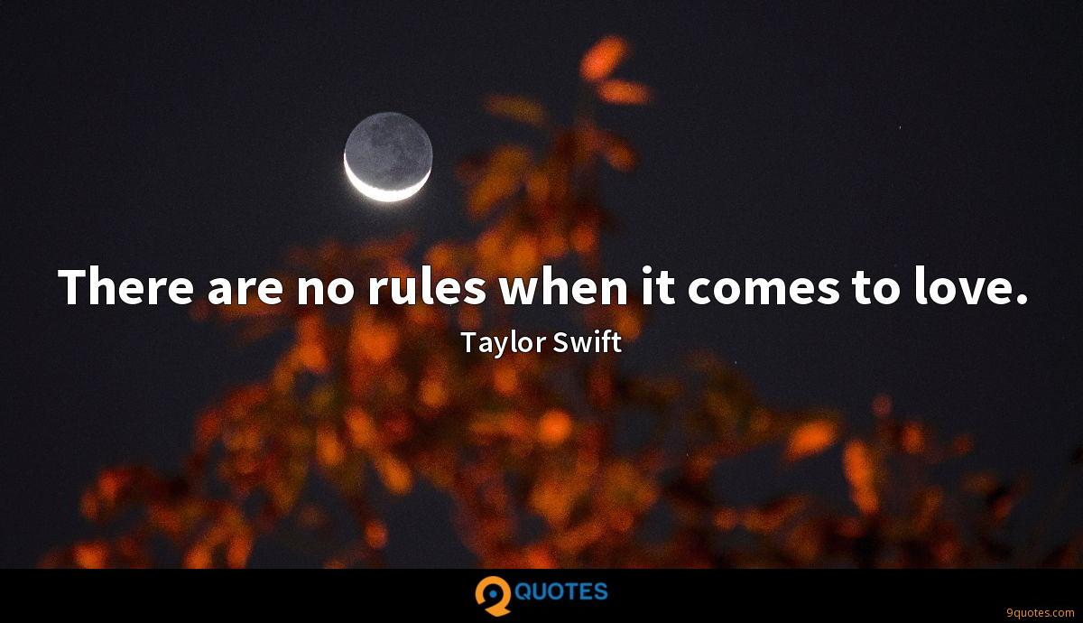 There are no rules when it comes to love.