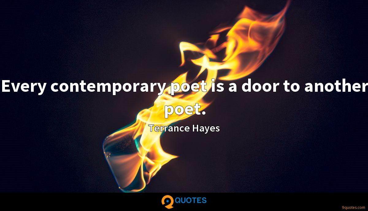 Terrance Hayes quotes