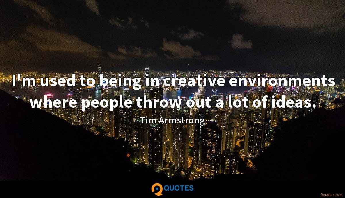 Tim Armstrong quotes