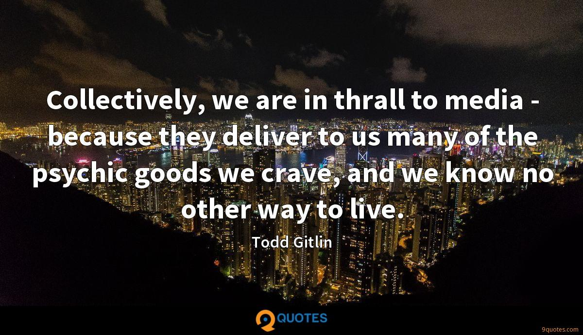Todd Gitlin quotes