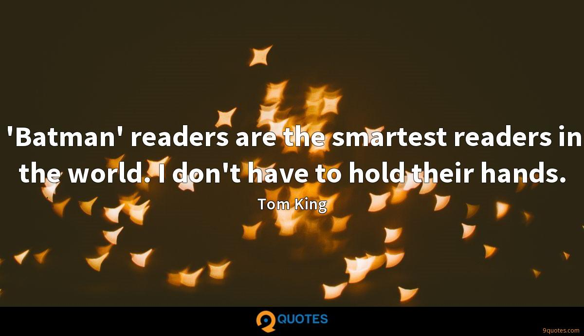 Tom King quotes