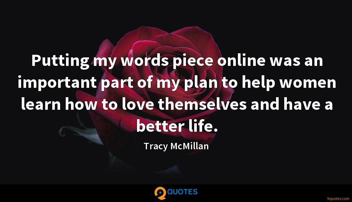 Tracy McMillan quotes