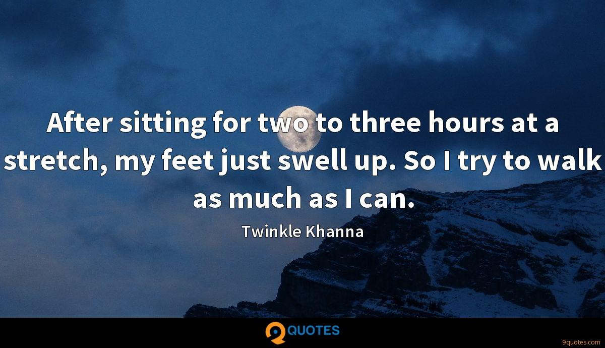 Twinkle Khanna quotes