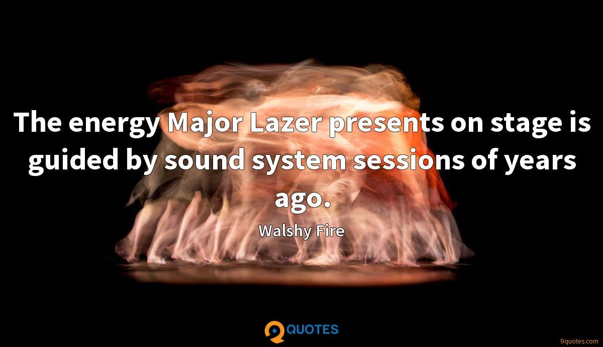 The energy Major Lazer presents on stage is guided by sound system sessions of years ago.